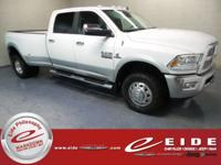 2014 Ram 3500 Laramie Bright White Clearcoat 4WD