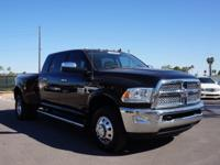 14' Dodge RAM 3500 Laramie Dually Mega Cab 6.7L Turbo