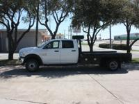 2014 Dodge Ram 4500 CrewCab Flatbed Dually 4x4 Cummins