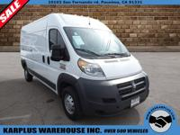 2014 Ram ProMaster Cargo Van 3500 High Roof 159