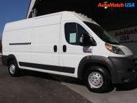 This Ram ProMaster Cargo Van delivers a Regular