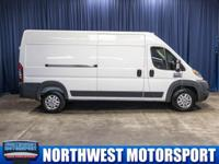 Clean Carfax One Owner Cargo Van with Backup Camera!
