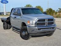 This well maintained, one owner Ram 3500 HD Tradesman