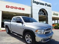 2014 Ram 1500 Big Horn. Powered by a 5.7-liter V8 with