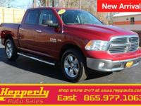 This 2014 Ram 1500 Big Horn in Flame Red Clearcoat