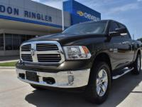 Recent Arrival! CARFAX One-Owner. Black / Gold 2014 Ram
