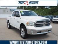 For a smoother ride, opt for this 2014 RAM 1500 Big