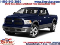 Boasts 23 Highway MPG and 16 City MPG! This Ram 1500