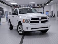 2014 Ram 1500 Tradesman White ABS brakes, Electronic