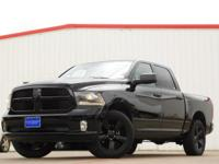2014 Ram 1500 Black Clearcoat 8-Speed Automatic 1500