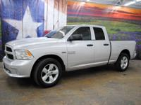 *Purchase this sporty shining silver 2014 Ram 1500