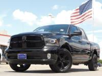 2014 Ram 1500 Black Clearcoat 6-Speed Automatic 1500