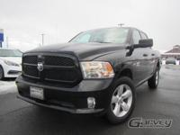 The 2014 Ram 1500 is a full-size pickup available in