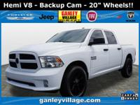 Hemi v8! Backup cam! Bluetooth! Keyless entry! Low