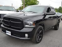 This 2014 Ram 1500 Tradesman Crew Cab SWB 4WD features