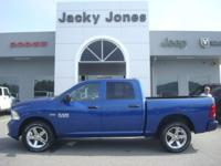 2014 Ram 1500 Express in Blue, *One Owner*, *White