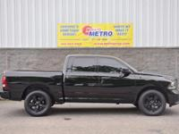 2014 Ram 1500 Black Express Crew Cab!!!  In Black