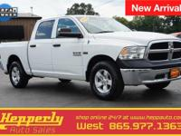 CARFAX One-Owner. This 2014 Ram 1500 ST in Bright White
