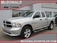 Options:  2014 Ram 1500 Tradesman/Express 4X4 Quad Cab