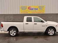 CARFAX One-Owner. White 2014 Ram 1500 Express Quad Cab