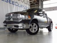 Clean CARFAX. Gray 2014 Ram 1500 4WD 8-Speed Automatic