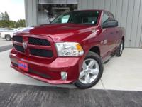 Options:  2014 Ram 1500 Express|Red|6 Speakers|Am/Fm