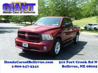 This 2014 Ram 1500 Express 4WD is proudly offered by