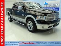 LARAMIE-HEMI-ROOF-REAR CAM-REAR HEATED-BLUETOOTH-U