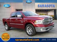 Auto Check 1 Owner, 4X4! CREW CAB! LARAMIE PACKAGE!