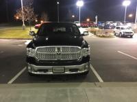Laramie trim, Low Vol Black Clear Coat exterior. CARFAX