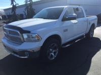 1500 Laramie, 4D Crew Cab, 3.6L V6 24V VVT, 8-Speed
