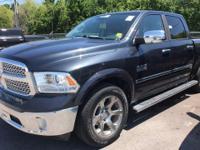 CARFAX One-Owner. Black Clearcoat 2014 Ram 1500 Laramie
