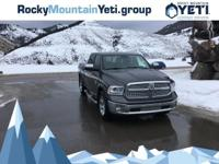 Take command of the road in the 2014 Ram 1500! Unique