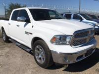 Options:  2014 Ram 1500 Laramie  1St And 2Nd Row