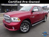 Options:  2014 Ram 1500 Laramie Longhorn|Red|Recent