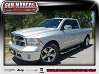 Options:  2014 Ram 1500 Lone Star|Silver/|V8 5.7 L