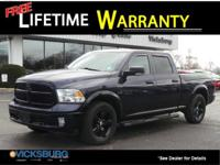 Options:  2014 Ram 1500 Outdoorsman|Blue|Abs
