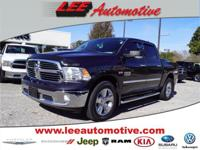 Look no further this 2014 RAM 1500 SLT 4x2 Crew Cab 140