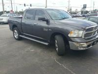 Granite Crystal Metallic Clearcoat 2014 Ram 1500 SLT
