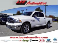 Look no further this 2014 RAM 1500 SLT 4x4 Crew Cab 140