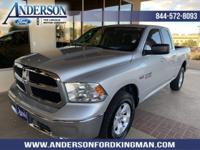Bright Silver Clearcoat Metallic 2014 Ram 1500 SLT 4WD