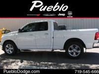 Clean CARFAX. 2014 Ram 1500 4WD 8-Speed Automatic HEMI