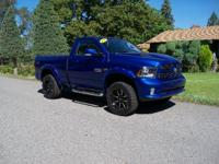 Options:  2014 Ram 1500 Sport Swb 4Wd|Blue|1433