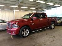 Deep Cherry Red Crystal 2014 Ram 1500 Sport 4WD 8-Speed