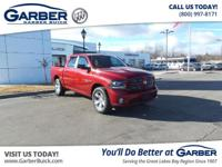 Introducing the 2014 RAM 1500 Sport! Featuring a 5.7L