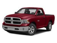 Options:  Rear Wheel Drive  Power Steering  Abs 