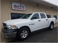 Options:  2014 Ram 1500 Crew Cab Tradesman Pickup 4D 5