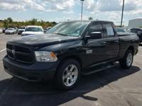 One-Owner Black 2014 Ram 1500 Tradesman Quad Cab with