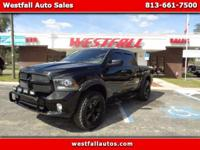Very nice all blacked out 2014 RAM 1500 Tradesman. Nice