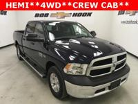 CARFAX One-Owner. Blue 2014 Ram 1500 Tradesman 4WD